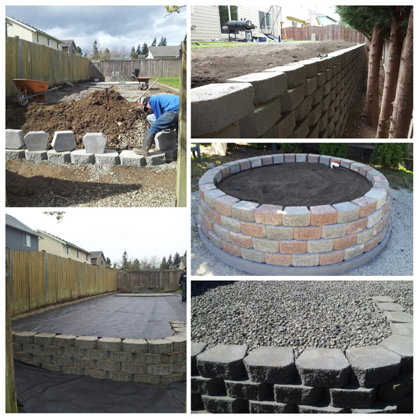 Minh's Landscaping installs pavers and retaining walls - concrete - fences - fencing - Puyallup, WA professional landscapers in South Hill