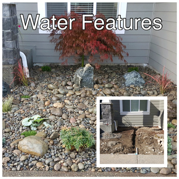 Minh's Landscaping installs sprinkler systems - sprinkler system installation - water features - Puyallup, WA - professional landscapers
