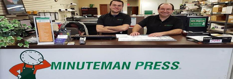 Minuteman Press in Deerfield, IL banner