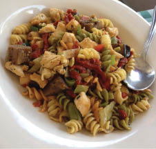 Plenty of fresh pasta recipe dishes for lunch and dinner