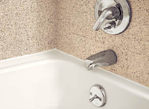 bathroom resurfacing, refinishing bathtub by Miracle Method in Villa Park, IL