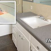 kitchen or bathroom counter top refinishing, resurfacing in Chicago, IL
