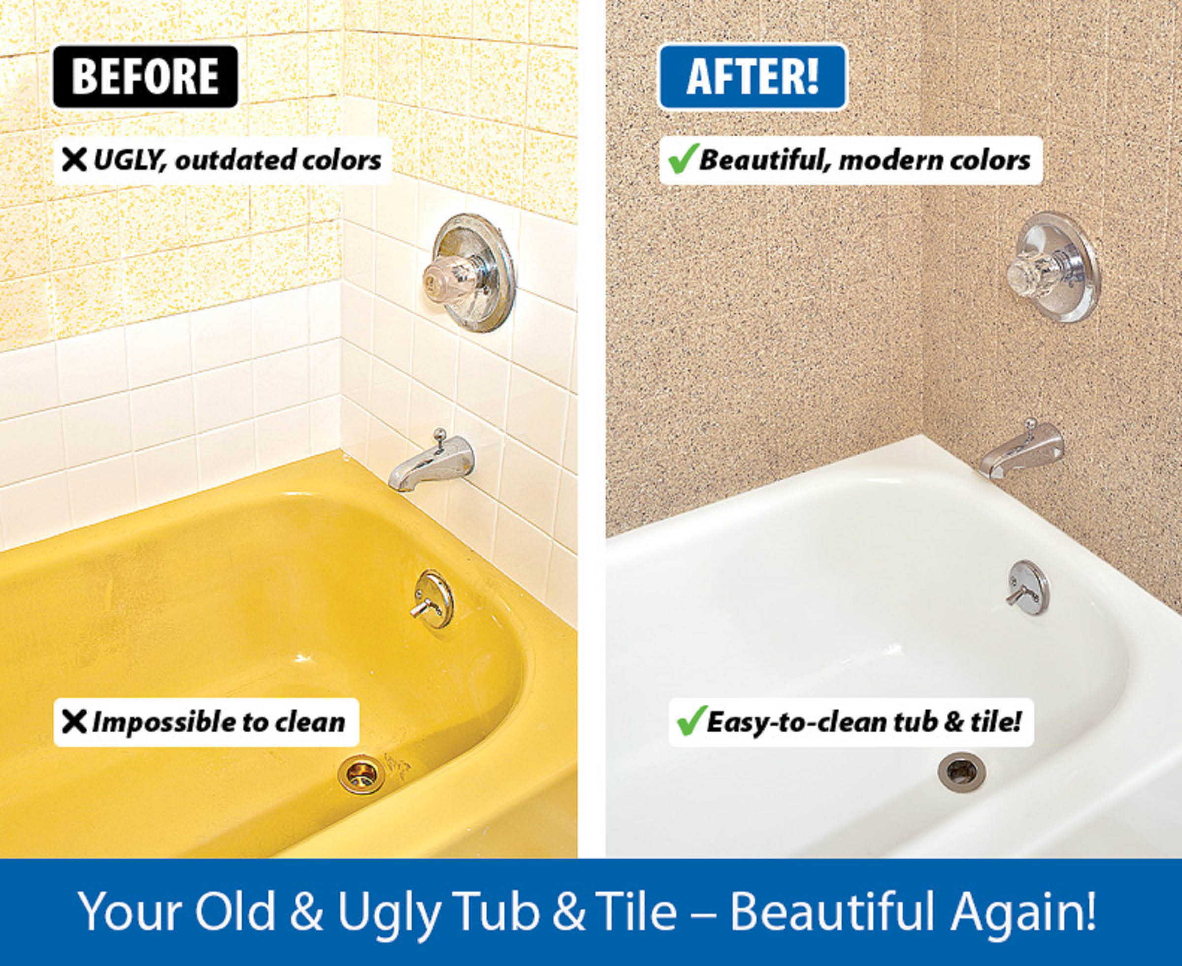 Before And After Bathtub Resurfacing