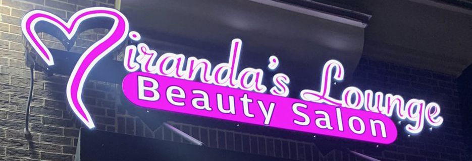 Miranda's Lounge Beauty Salon in Texas banner