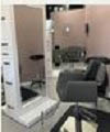 Plush seating in Miranda's Hair Salon