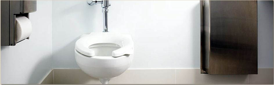 Bathroom fixture plumbing - toilet installation
