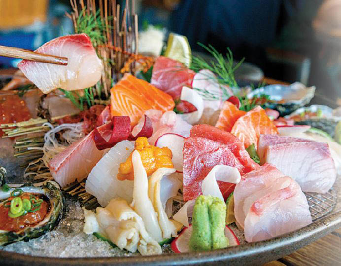 Mizuki Buffet - Tukwila, Washington - sushi buffet - seafood buffet - Asian buffet - Japanese restaurant