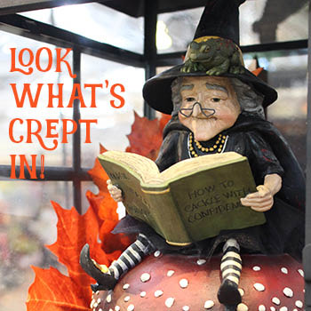 Molbak's Garden+Home in Woodinville, WA has a huge selection of seasonal gifts and decor - Halloween gifts - Halloween decor