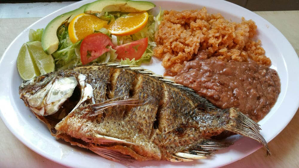 Mexican restaurant, seafood near Martinez