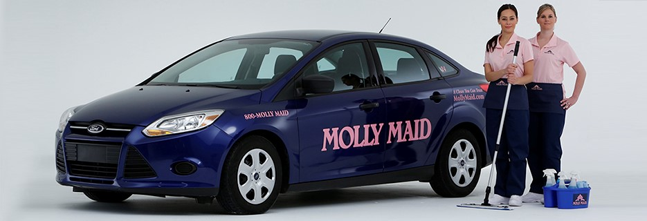 Molly Maid Car and Employees
