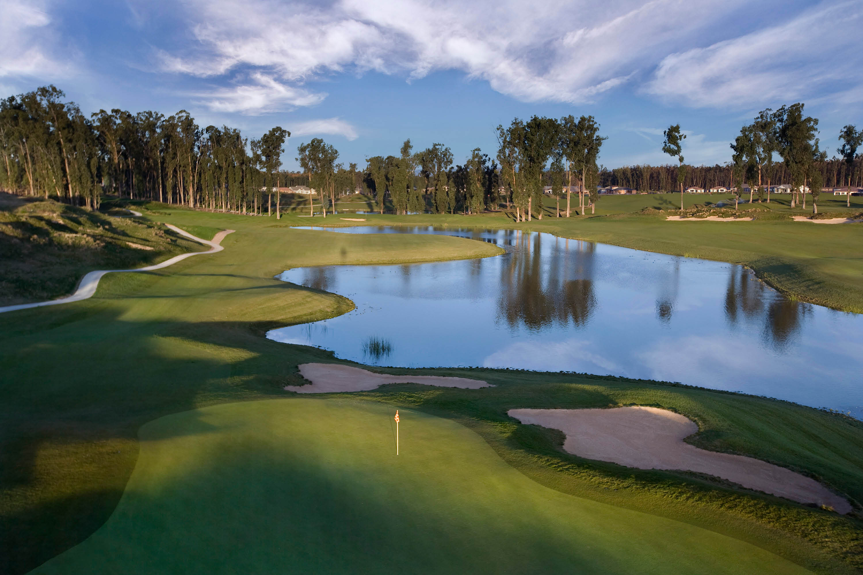 Be one with nature on Monarch 18-hole championship course