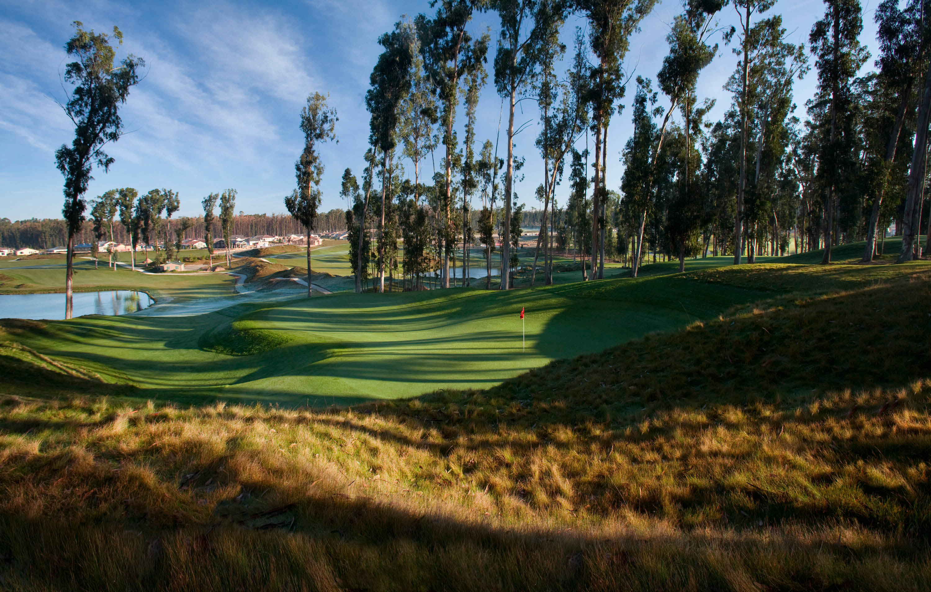 Try out Monarch's 12-hole challenge course