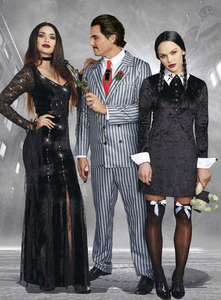 Whatever costume your looking for Lovers Naughty or Nice has what your looking for - NW Costumes in Monroe, WA - Addams Family costurmes
