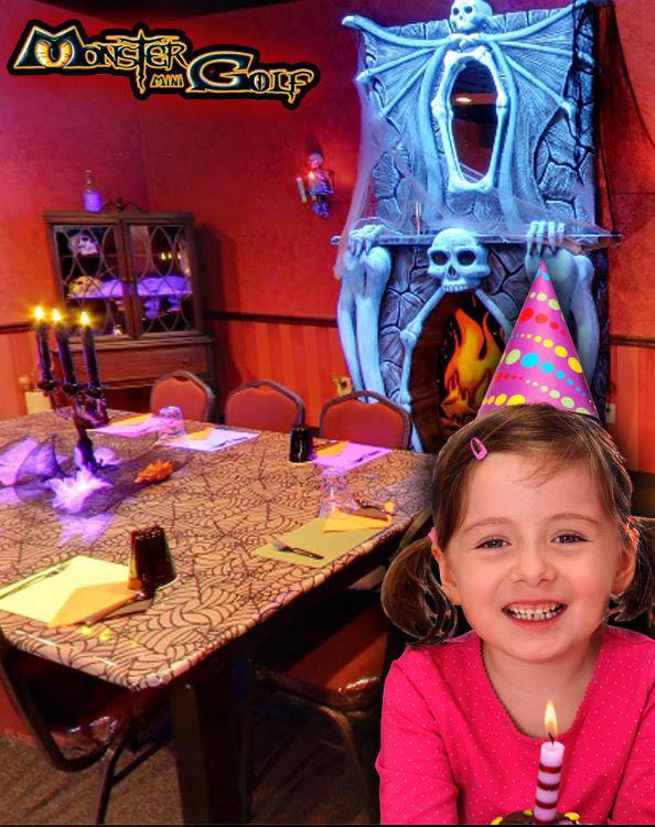 birthday parties in Chantilly, VA