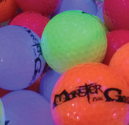 Monster Mini Golf Jessup, MD golf balls