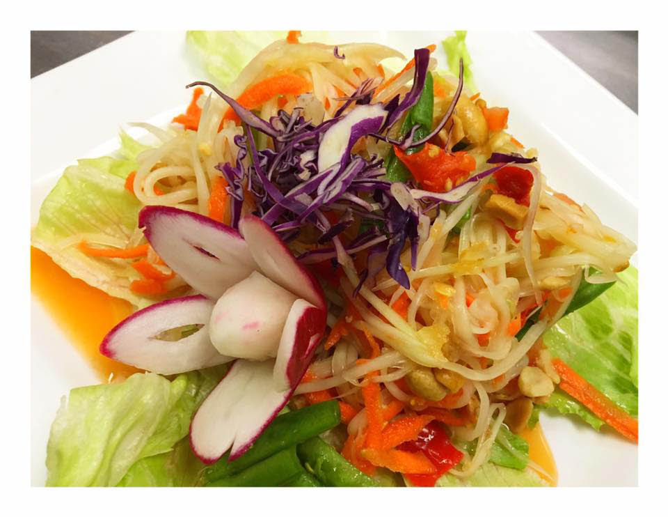 Fine dining Thai noodle dish near Warrenville