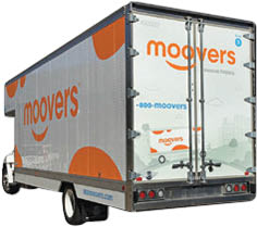 Moovers moving truck