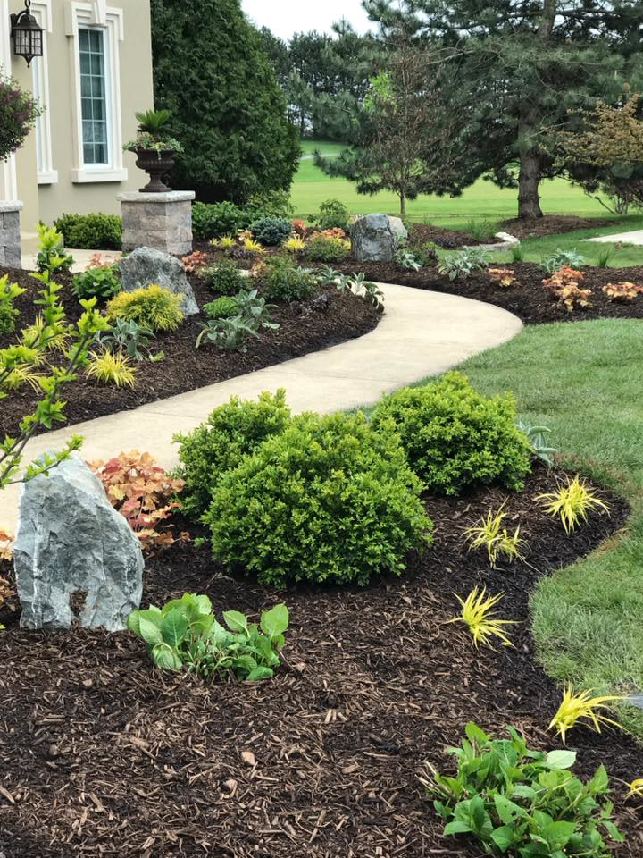 Landscape design in Cook County