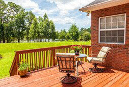 outdoor deck; yards; flea and tick control St. Louis