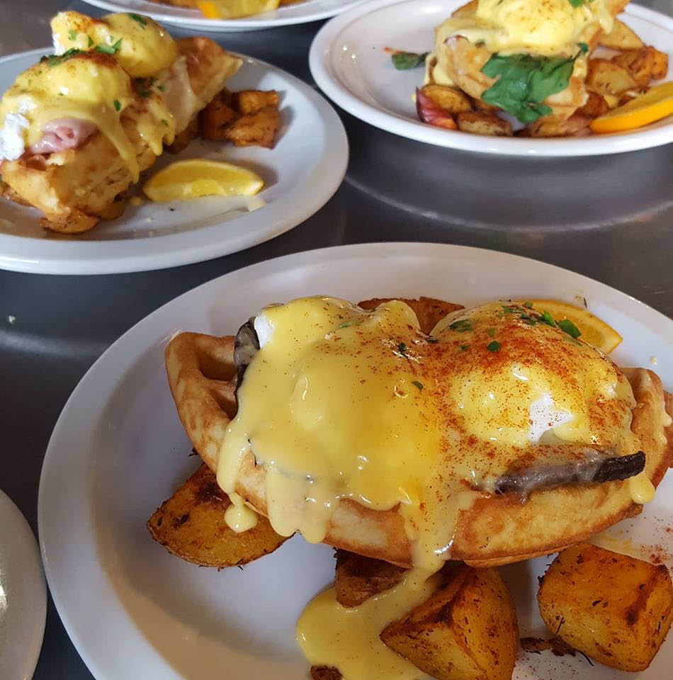 Eggs Benedict, Bellingham's Best, Breakfast