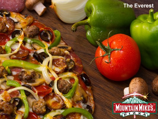 Mountain Mike's Pizza special The Everest