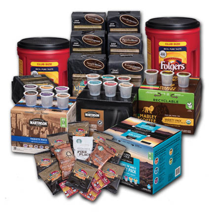 Mountain Mist offers a large variety of coffee products - coffee services from Mountain Mist bottled water company in Puyallup, WA