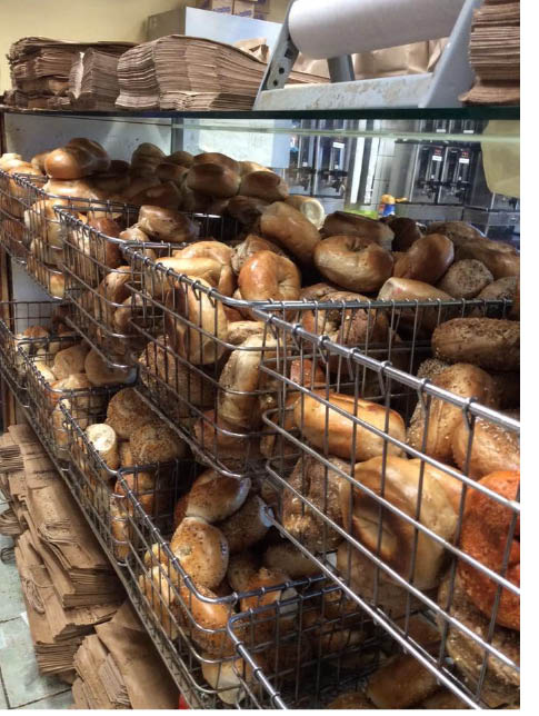Freshly made bagels at Mountain Lakes Bagel & Deli in Mountain Lakes NJ