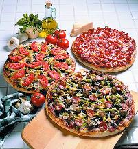 pizza; sandwiches; gluten-free; veggie; drinks; garlic bread; salads