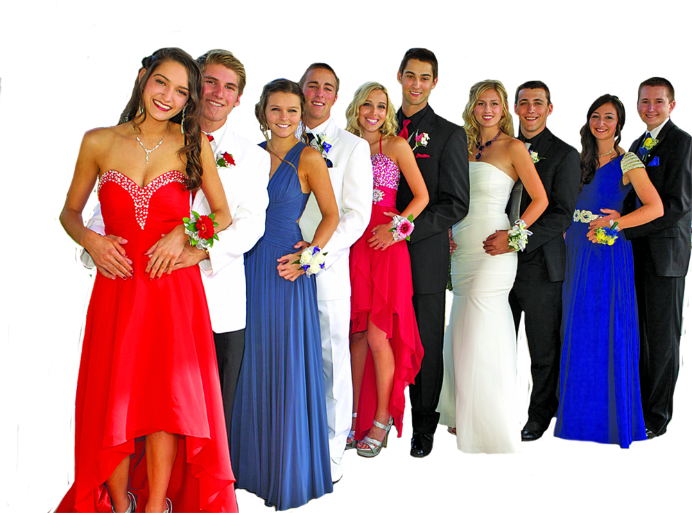 Tuxedos from Mr Tux for prom night