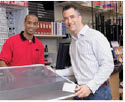 Ace Hardware store in mt. airy md screen repair services
