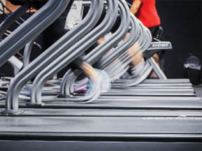 Enough Treadmills for everyone.