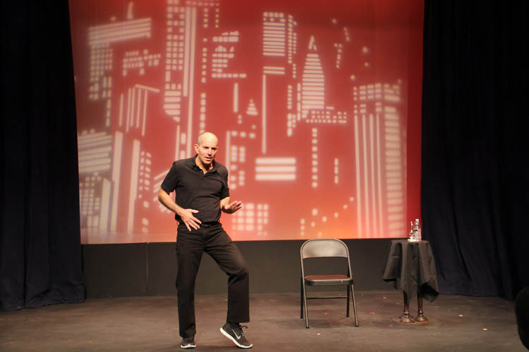 my son the waiter,theater show,comedy in ft lauderdale,jewish comedy,NSU Art Museum