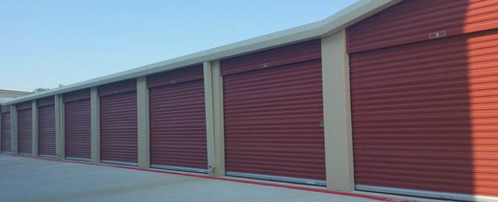 Our site offer climate controlled and non-climate controlled storage sheds.
