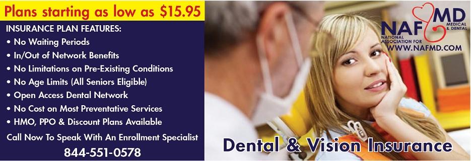National Association for Medical & Dental banner
