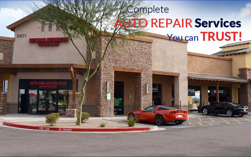 Get affordable auto repair at Network Automotive Service Center, AZ