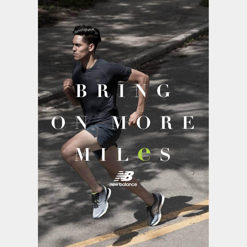 new balance athletic shoe ad