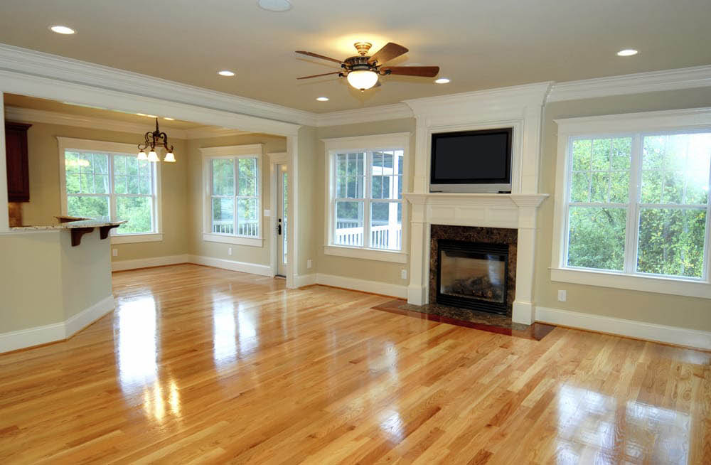 We can restore the color and shine to your hardwood flooring.