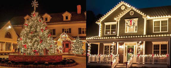 holidays, decorations, outdoor lights, curb appeal, festive