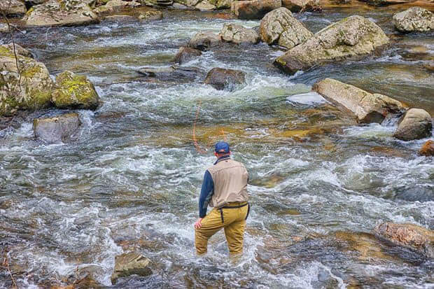 Fly Fishing with North Jersey Trout Unlimited in Lafayette NJ