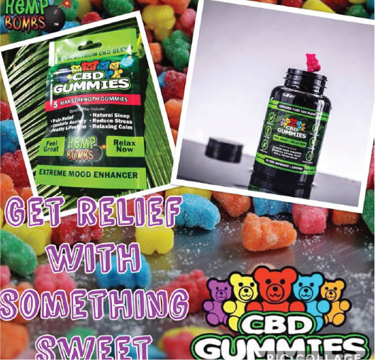 cbd gummy products at  natures mercantile & cbd in hurst texas