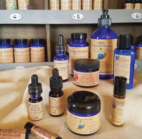 cbd products at  natures mercantile & cbd in hurst texas