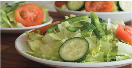 Fresh salad at Italian restaurant near Wentzville, MO