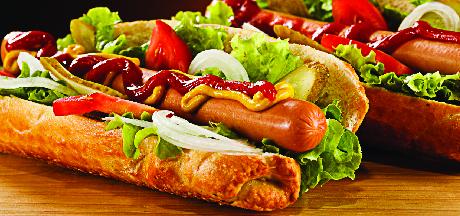 Nacho's Pizza serves hot dogs, too