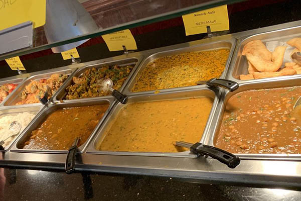 Namaste Buffet food items
