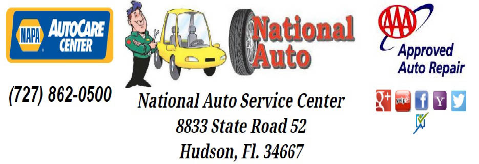 National Auto in Hudson, Florida banner