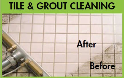 tile and grout cleaning before & after National Carpet Cleaning tampa bay, fl