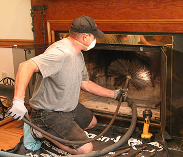 Chimney inspection from National Chimney Cleaners and Repair, Inc serving Northern NJ