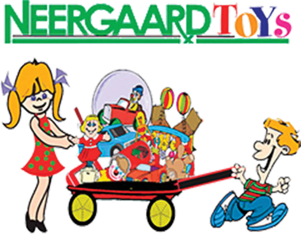 Neergaard's has toys for girls and boys