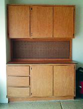 Small garage cabinet organizers