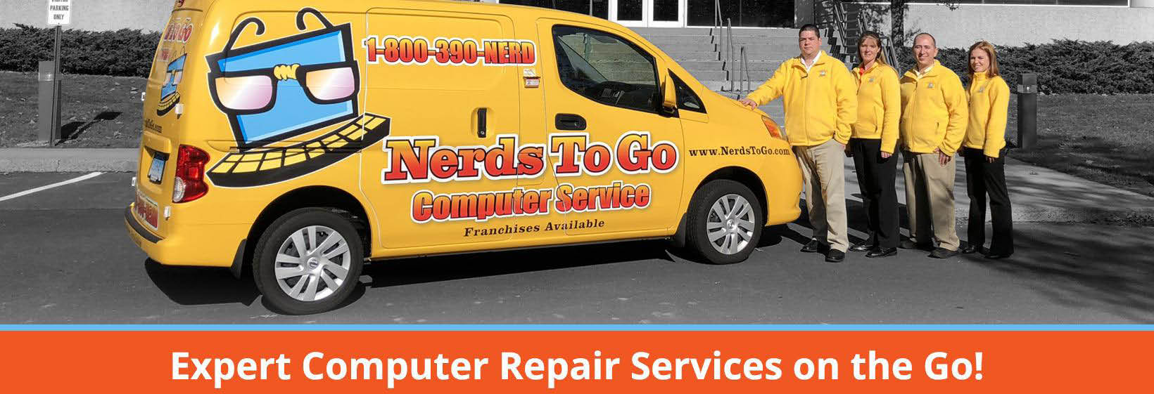 Nerds to Go main banner image - Bellevue, WA - computer services on the go